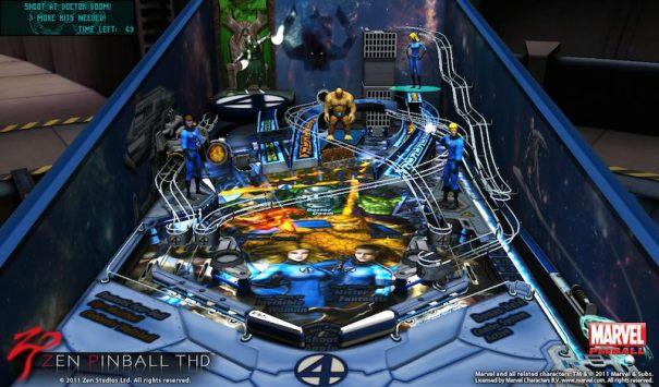 Zen Pinball Fantastic Four 01