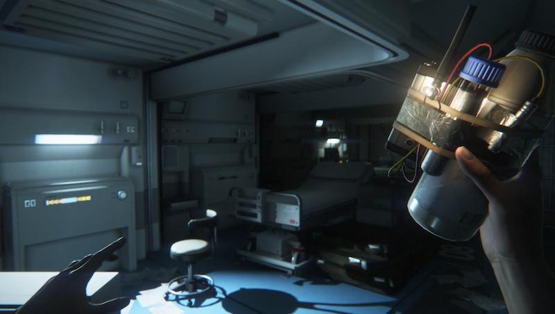 Alien Isolation molotov