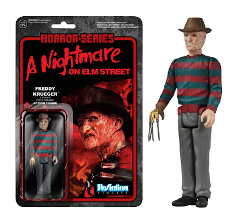 Freddy Krueger Nightmare On Elm Street ReAction Funko