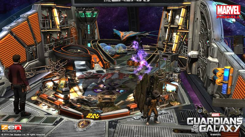 Guardians Of The Galazy Zen Pinball 2 Pinball FX 2 03