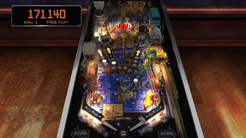 The Pinball Arcade Junk Yard