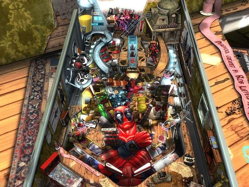 Zen Studios Deadpool table 01