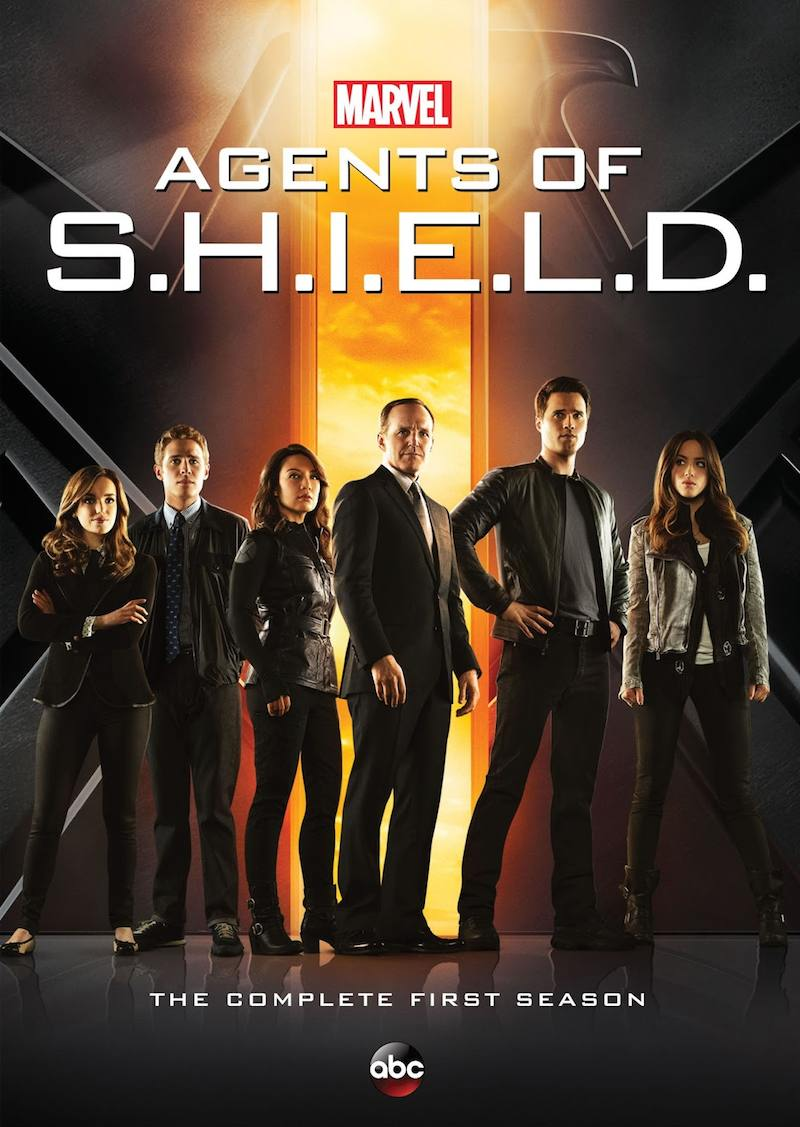 Agents Of S.H.I.E.L.D The Complete First Season cover