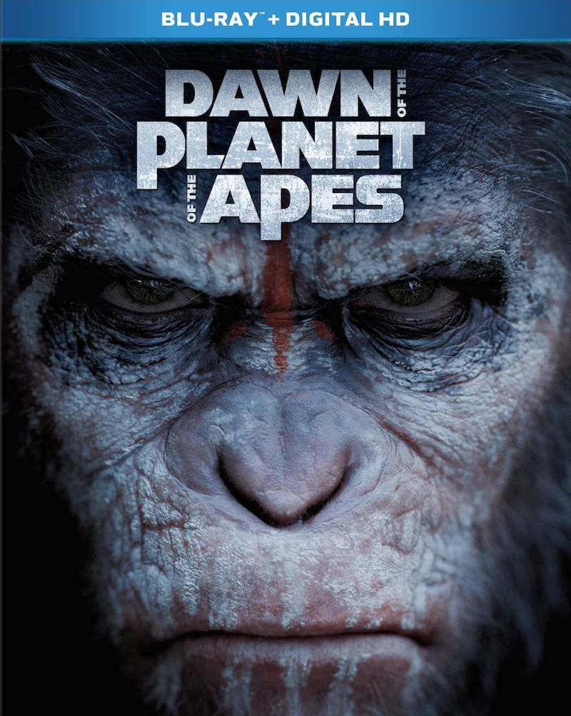 Dawn Of The Planet Of The Apes Blu-ray, DVD, And Special ...
