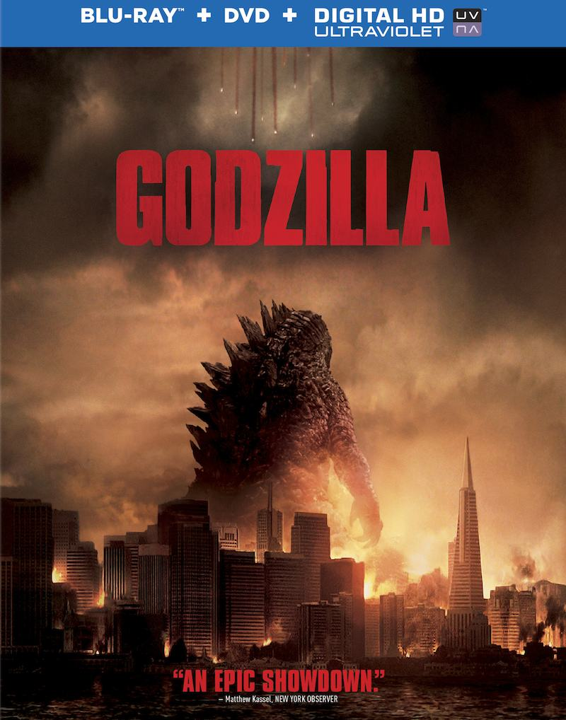 Godzilla Blu-ray and DVD cover