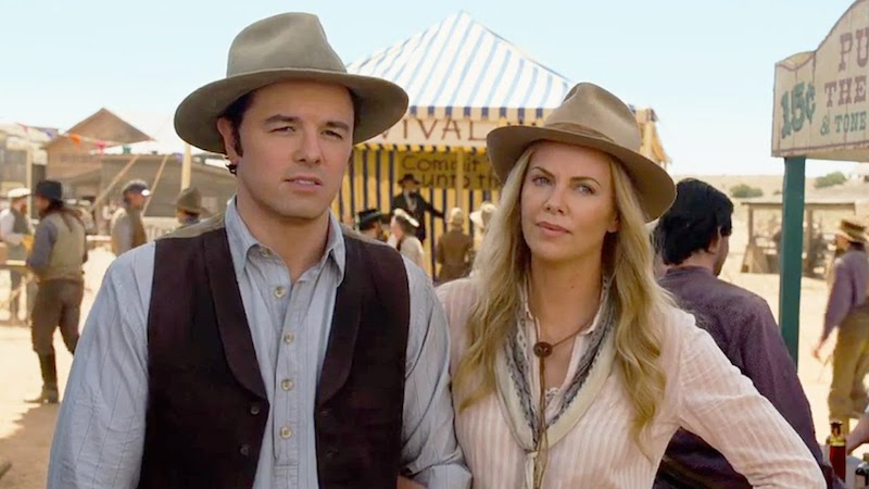 A Million Ways To Die In The West Seth MacFarlane Charlize Theron 01