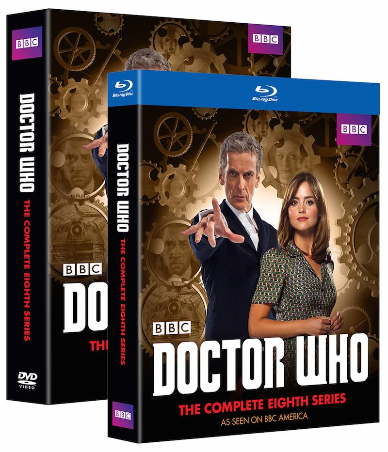 Doctor Who The Eighth Series cover