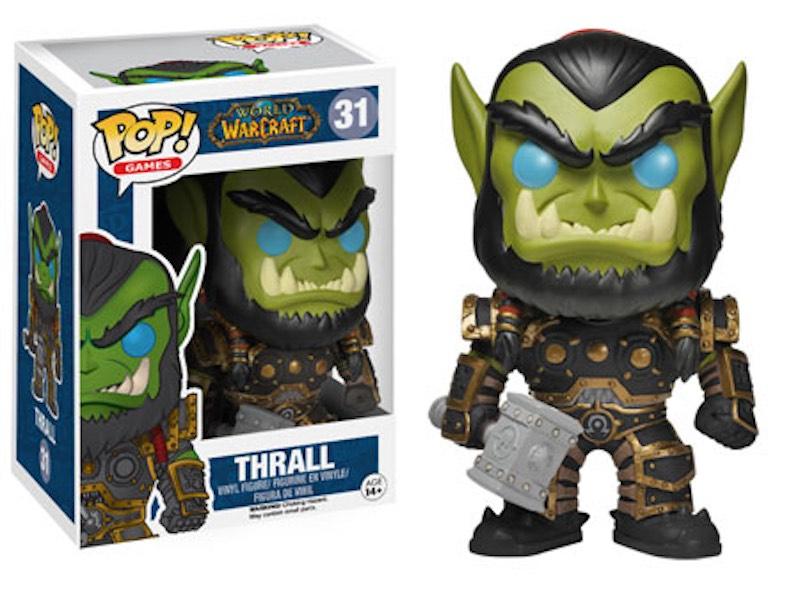 Funko World Of Warcraft LittleBigPlanet Assassins Creed Unity 31 Thrall