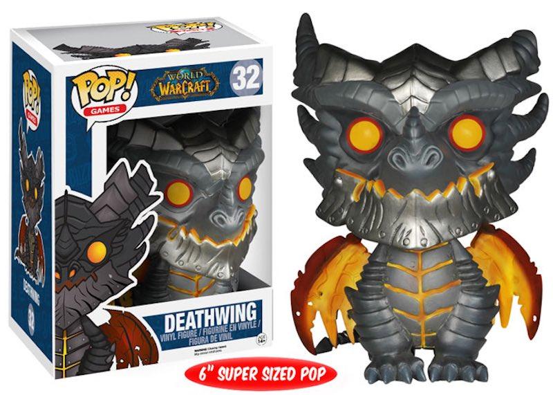 Funko World Of Warcraft LittleBigPlanet Assassins Creed Unity 32 Deathwing