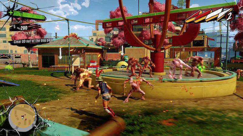 Sunset Overdrive overwhelm