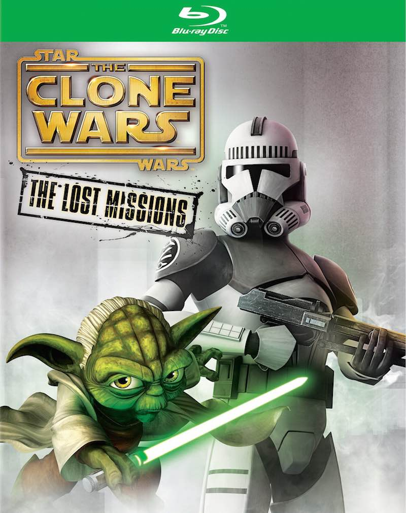Star Wars The Clone Wars The Lost Missions cover