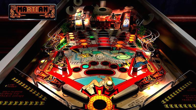 Best Games Of 2014 Attack From Mars  The Pinball Arcade Xbox One