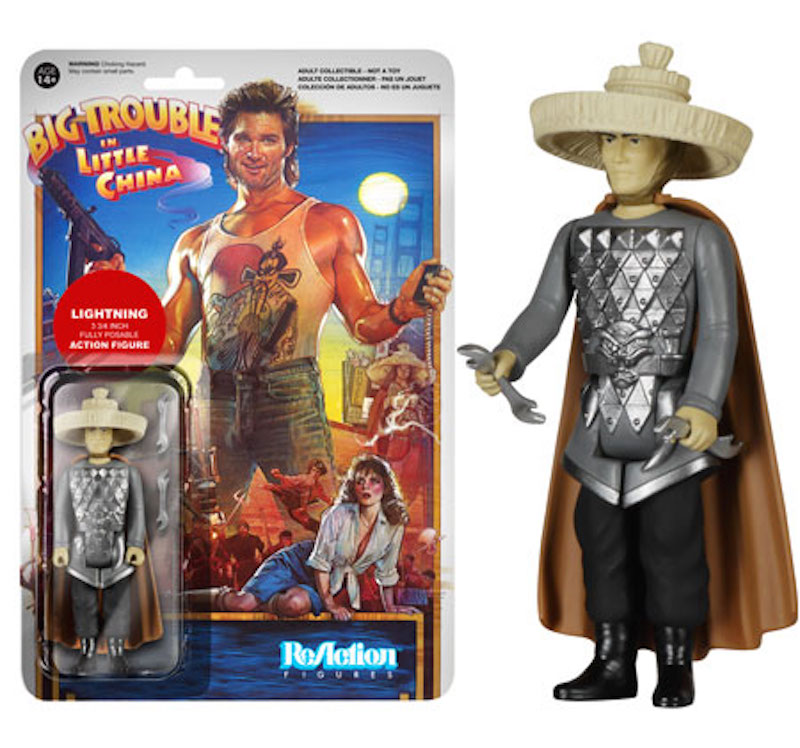Funko ReAction Big Trouble In Little China Lightning