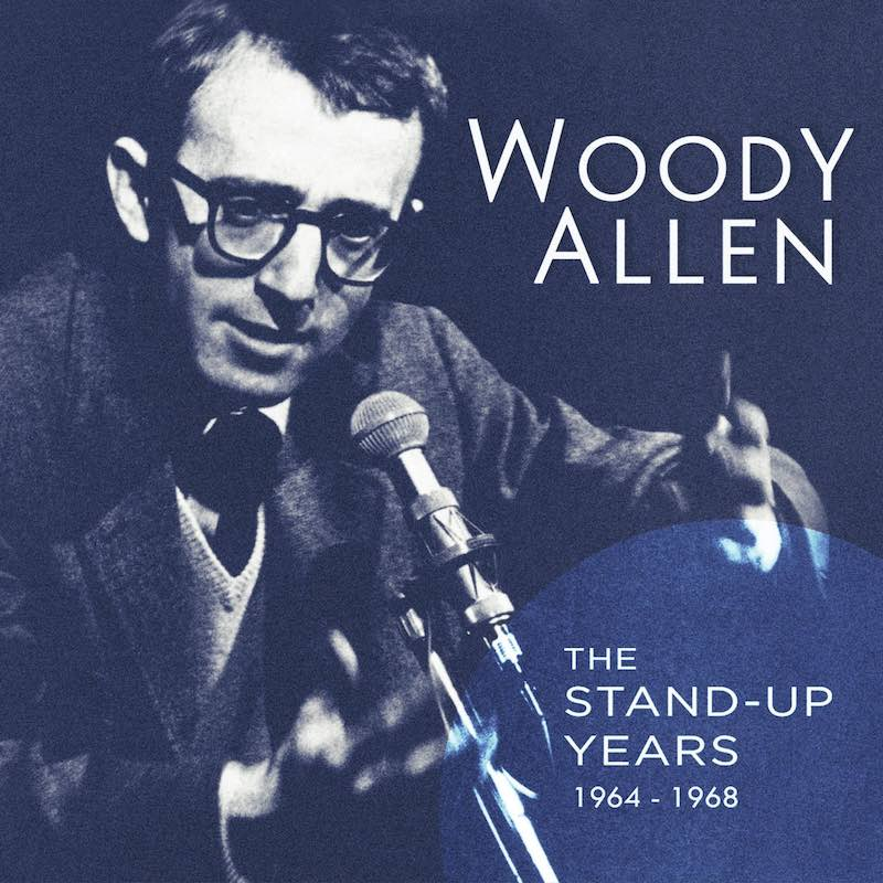 Woody Allen The Stand-up Years 1964-1968 cover copy