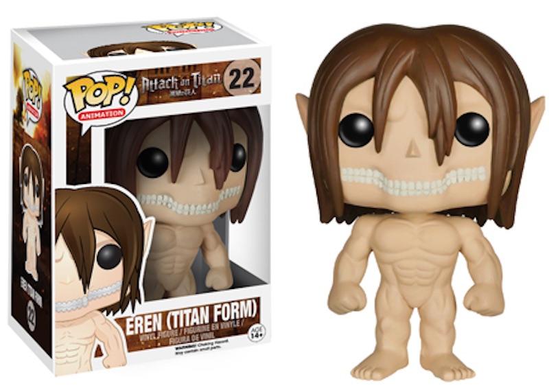 Funko POP Attack On Titan 22 Eren (Titan Form)