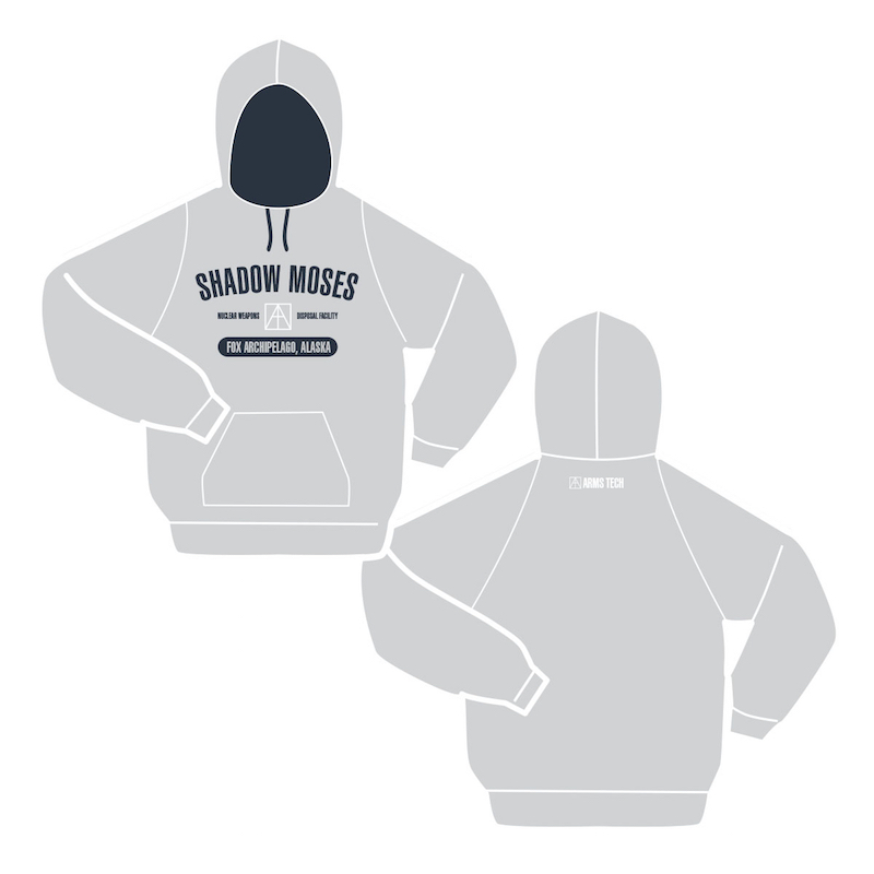Insert Coin Metal Gear Solid Shadow Moses hoodie