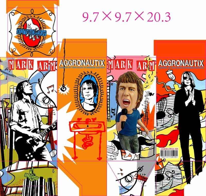 Aggronautix Mark Arm Mudhoney Throbblehead box