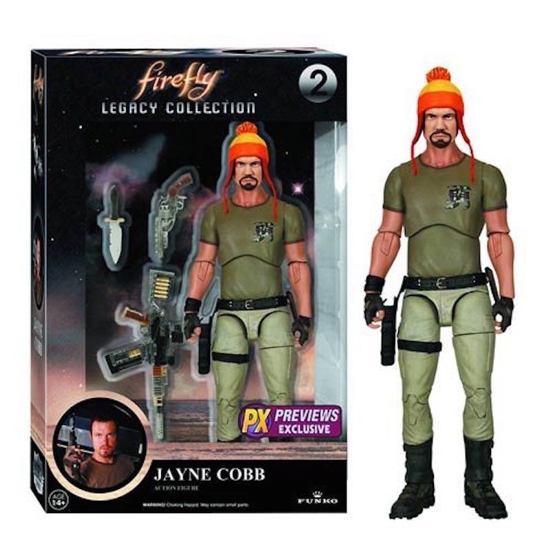 Funko Firefly Legacy Collection 2 Jayne Cobb HAT