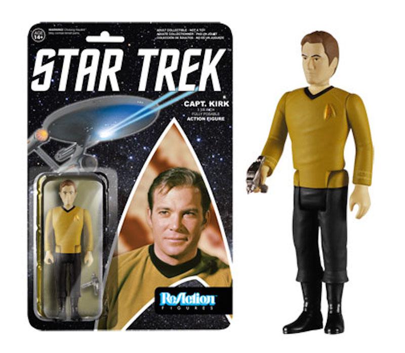 Funko Star Trek Series 2 ReAction Captain Kirk