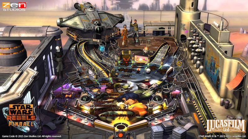 Star Wars Rebels Zen Pinball 2 Pinball FX 2 01