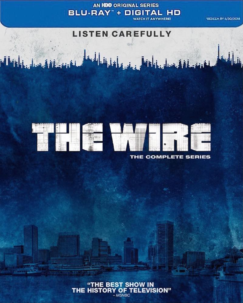 The Wire The Complete Series Blu-ray cover