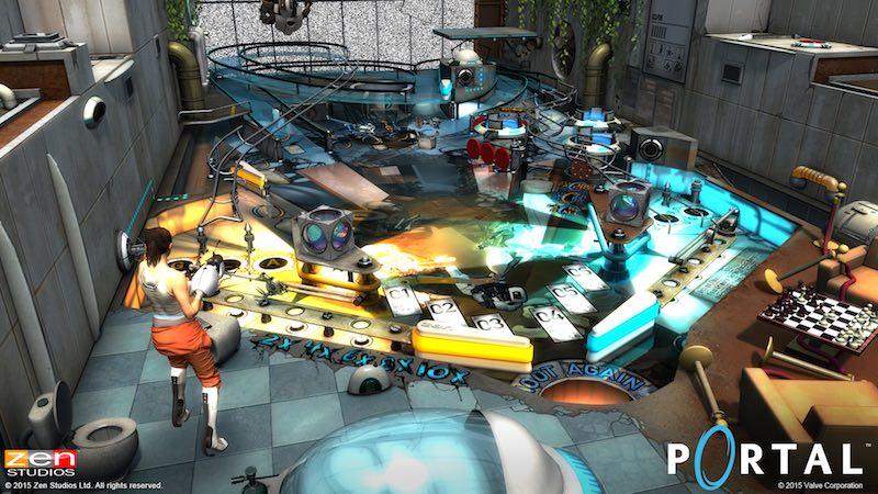 Zen Pinball 2 Pinball FX 2 Portal 02