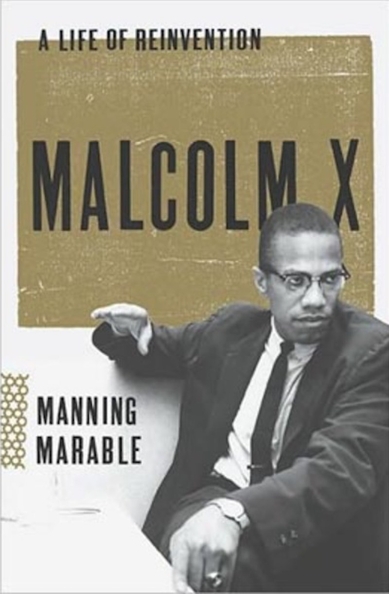 Malcom X Manning Marable
