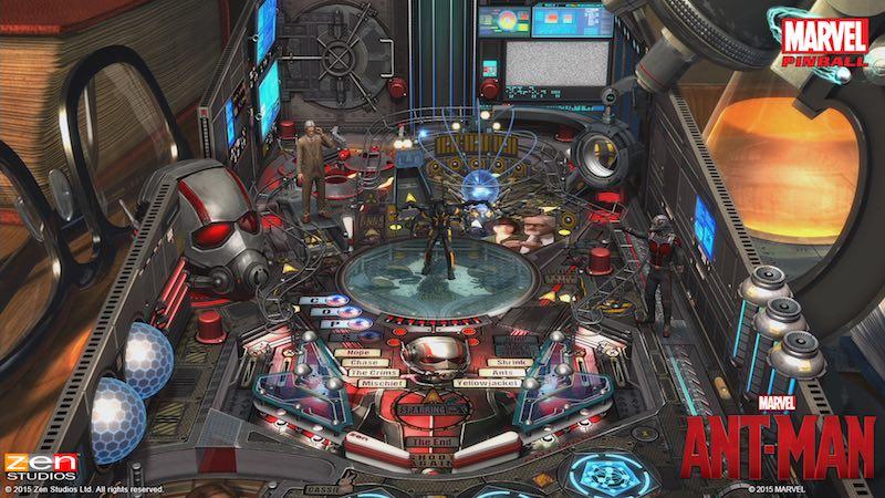 Zen Pinball 2 Pinball FX 2 Ant-Man 01