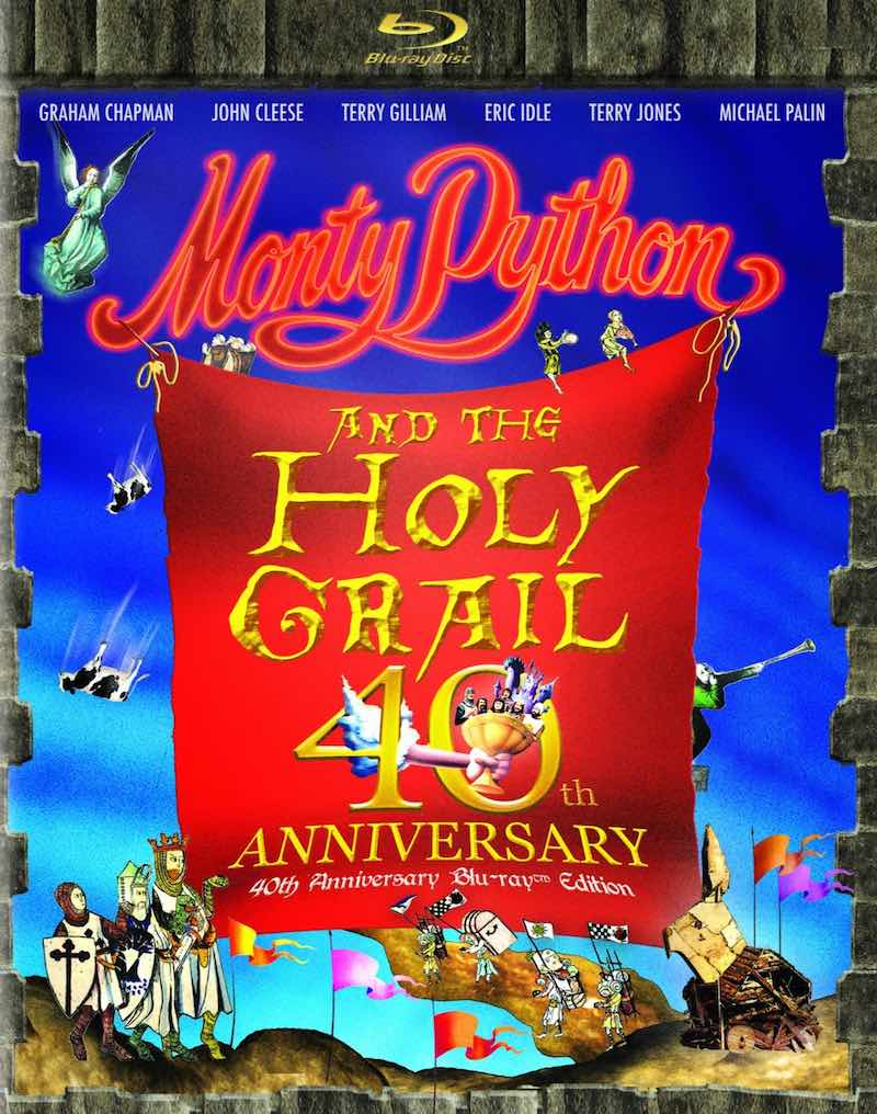 Monty Python And The Holy Grail 40th Anniversary Edition cover