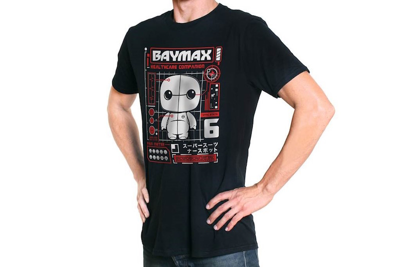 Funko Shirt Marvel Comics Baymax