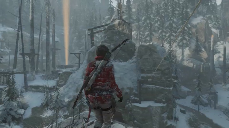 Rise Of The Tomb Raider vision