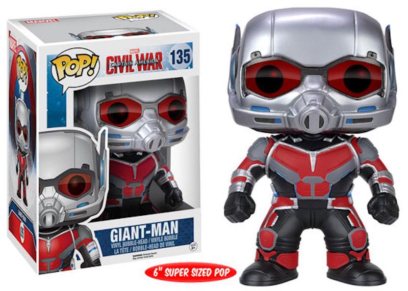 Funko Marvel POP! Captain America Civil War 135 Giant-Man