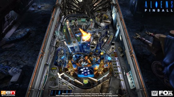 Aliens table Alien Vs Pinball Zen Pinball 2 Pinball FX 2