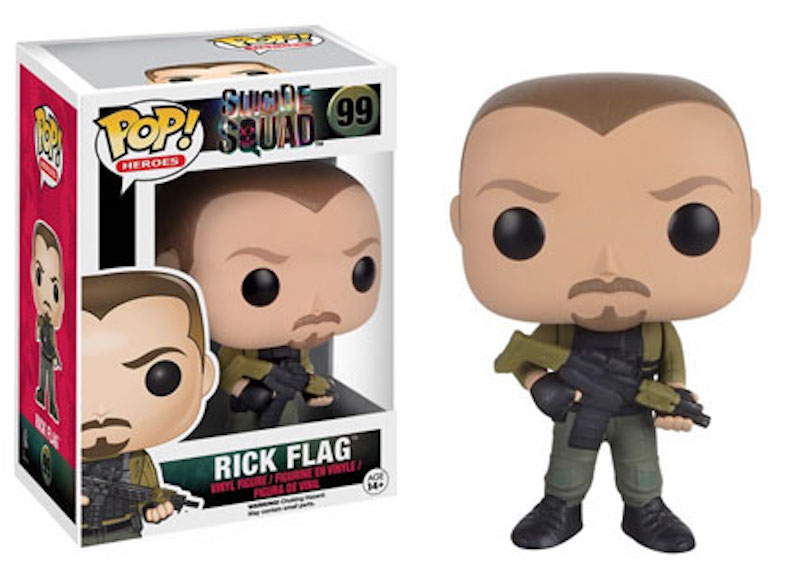 Funko POP! Suicide Squad 99 Rick Flag