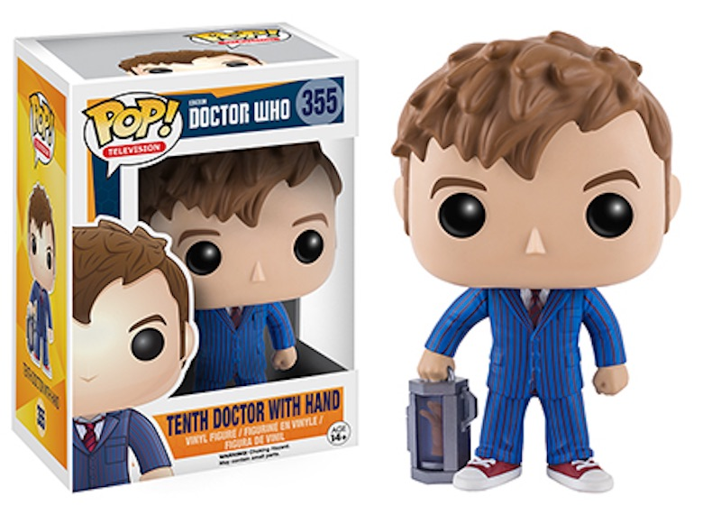 Funko POP Doctor Who 355 Tenth Doctor With Hand