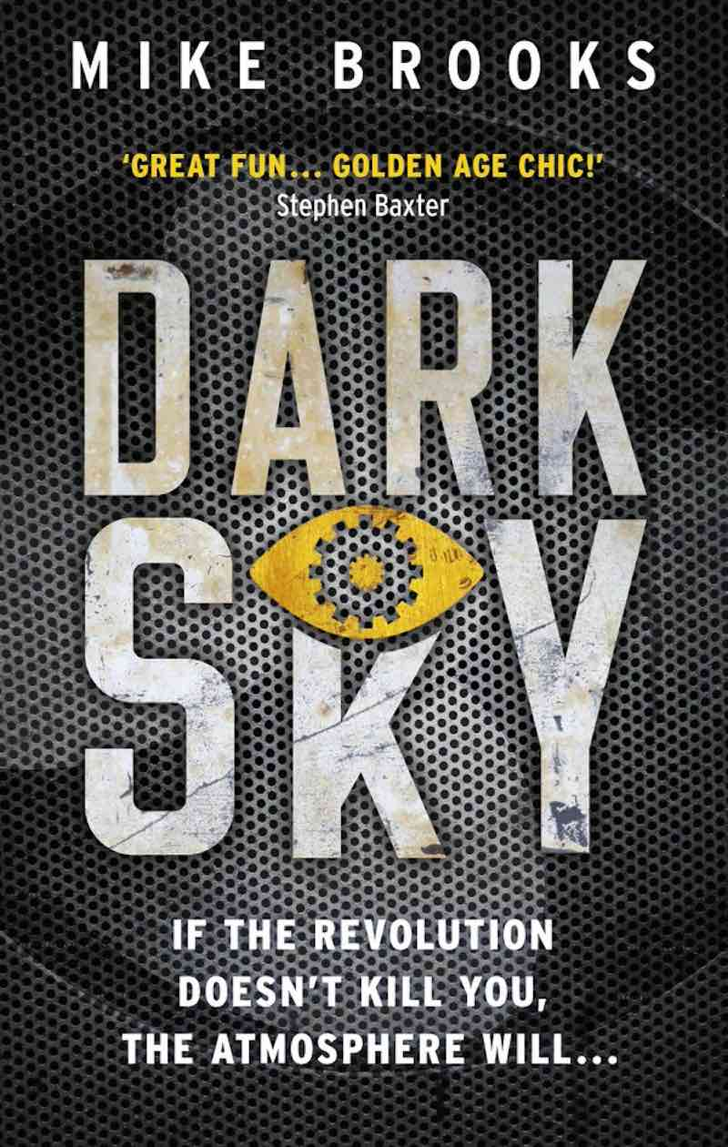 Mike Brooks Dark Run Dark Sky cover