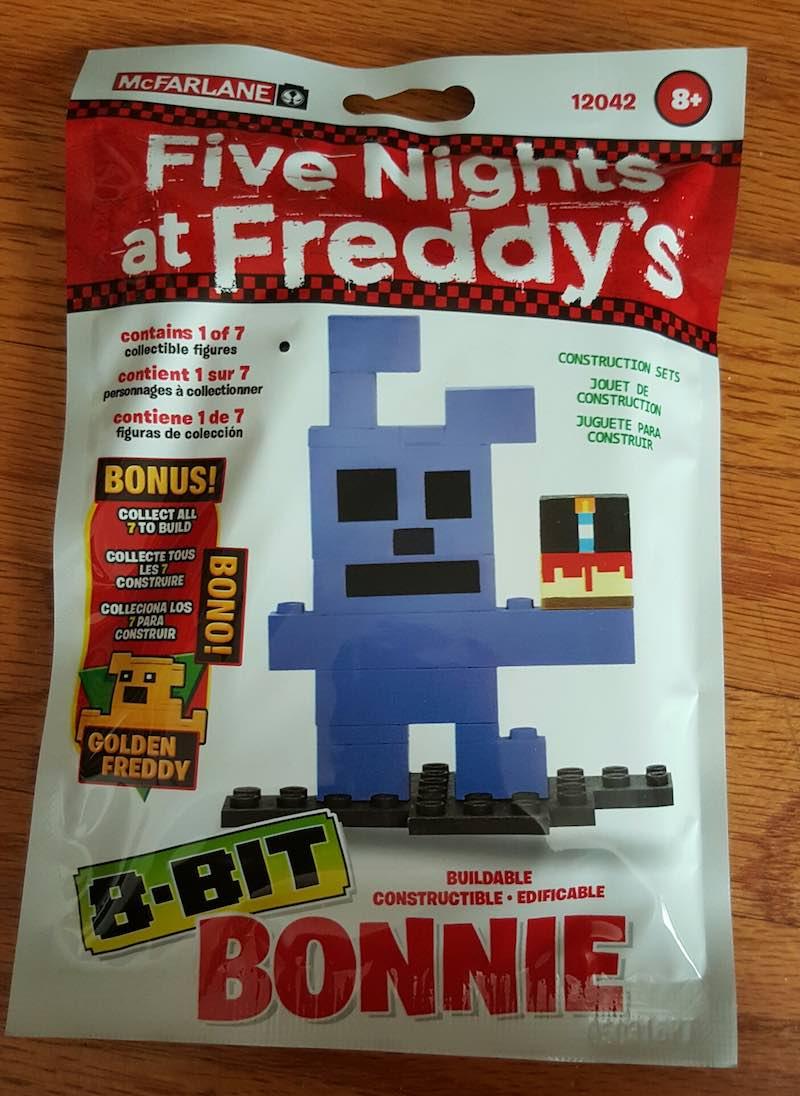 McFarlane Five Nights At Freddy's Construction Set Bonnie