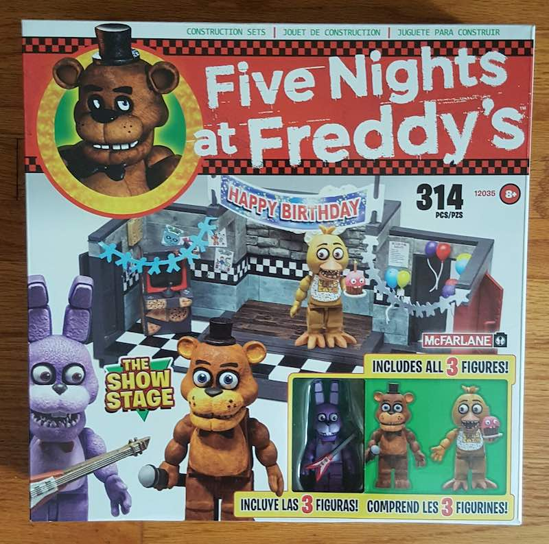 McFarlane Five Nights At Freddy's Construction Set The Show Stage