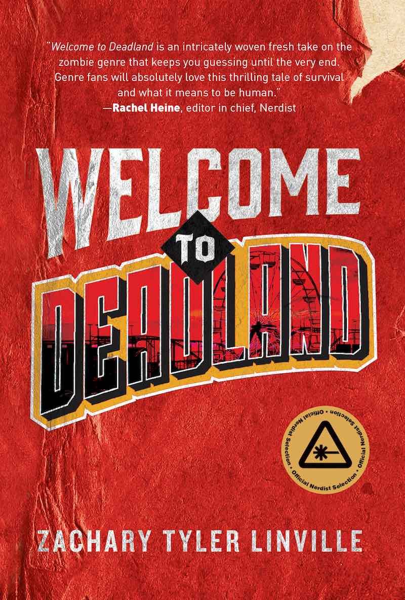 Zac Tyler Linville Welcome To Deadland cover