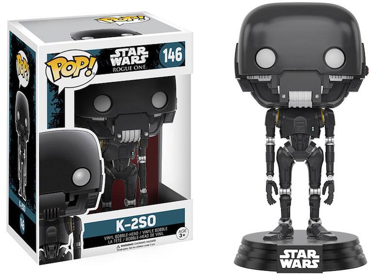 Funko Rogue One A Star Wars Story POP 146 K-2SO