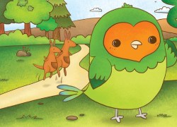Peck A Lonely, Little Lovebird Down Under Remi Nicole