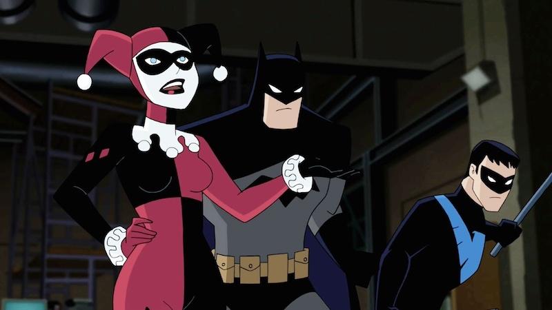 Batman And Harley Quinn Blu-ray DVD