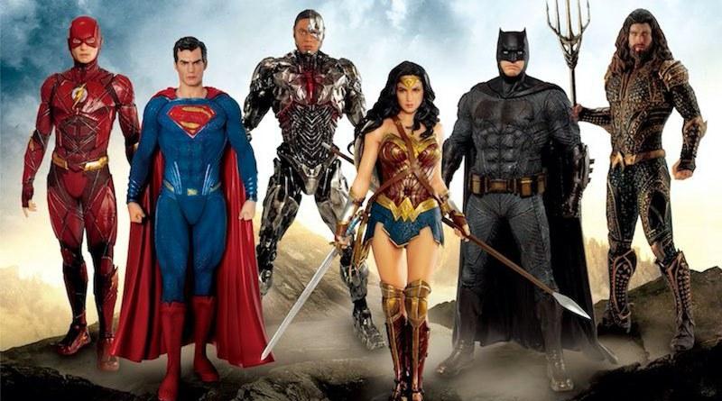 Kotobukiya Batman Superman Wonder Woman Aquaman Cyborg The Flash