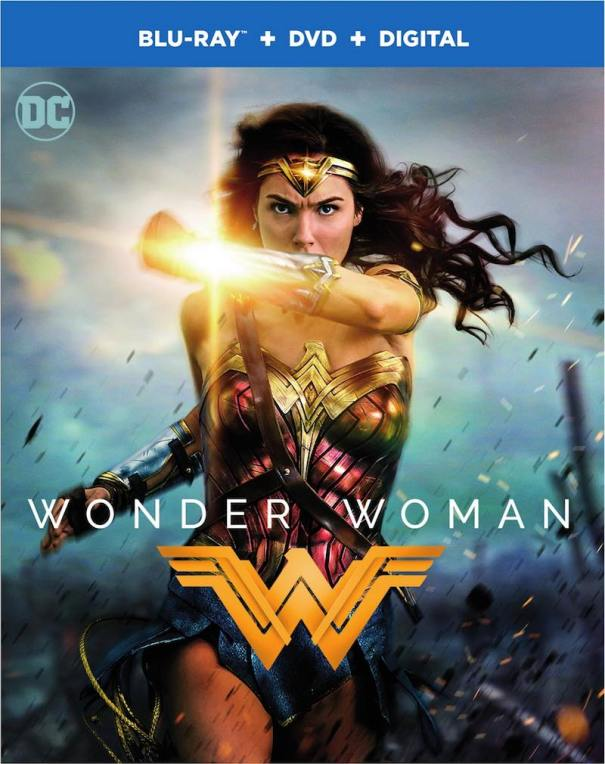 Wonder Woman Blu-ray DVD