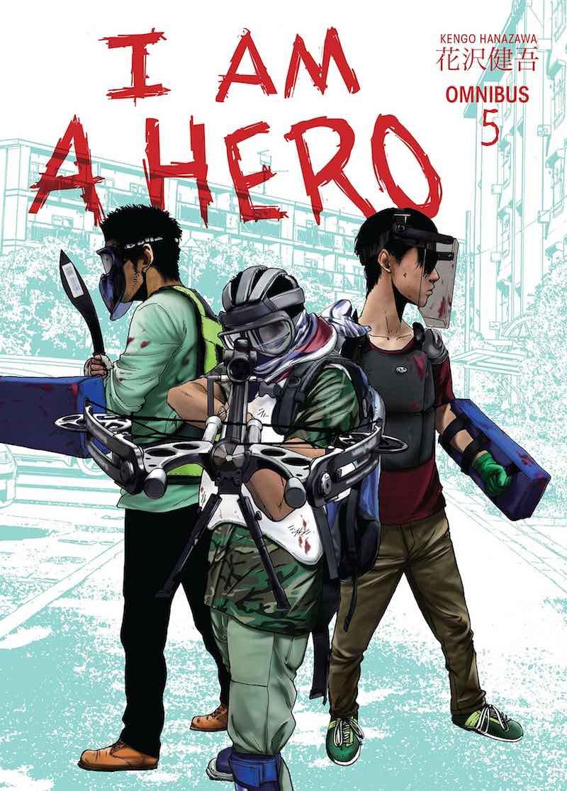 Best Books Of 2018 Kengo Hanazawa I Am A Hero Omnibus