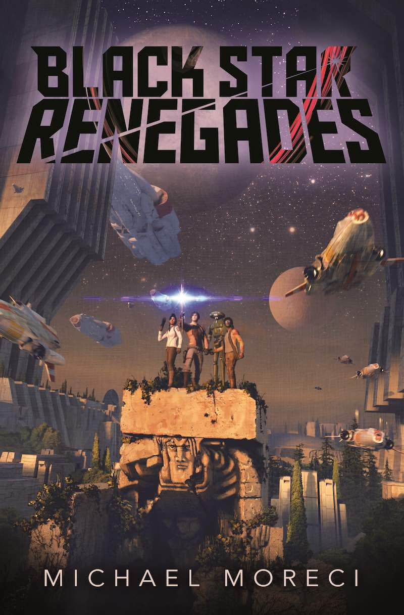 Michael Moreci Black Star Renegades The Throwaway