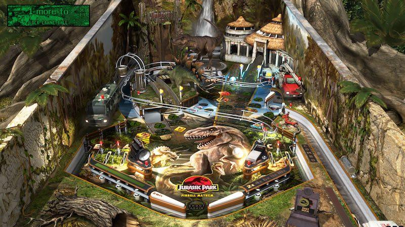 Jurassic World Pinball Jurassic Park Pinball Mayhem Jurassic Park Pinball