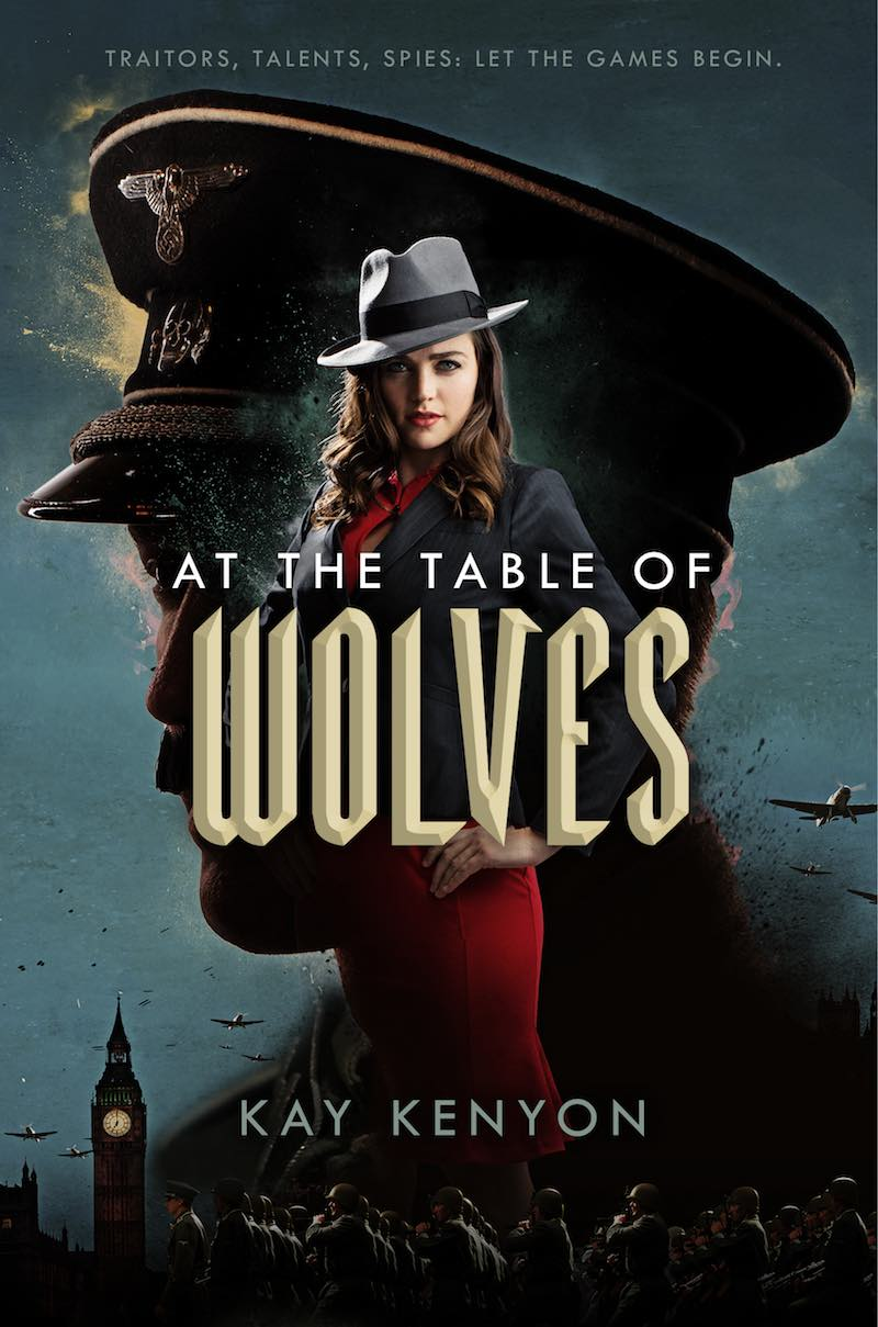 Kay Kenton The Dark Talents At The Table Of Wolves Serpent In The Heather
