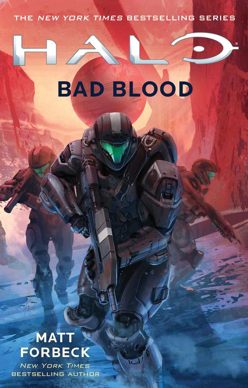 Matt Forbeck Halo Bad Blood New Blood