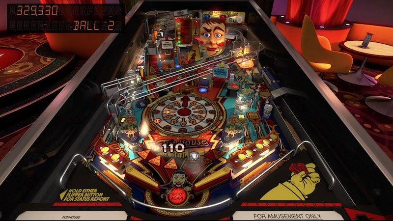 Williams Pinball Volume 6 Pinball FX3 Funhouse